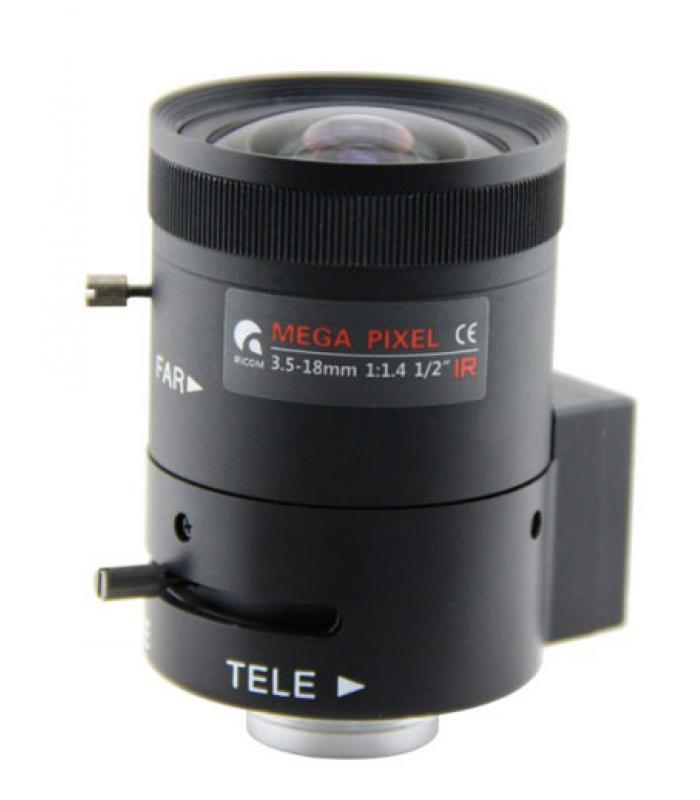 """Lēca HD 1/2"""" 3.5-18mm 03518DC"""