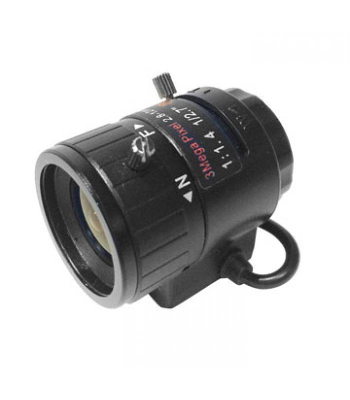3 MegaPixel Lēca 2.7-12mm