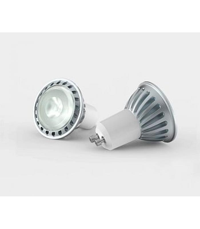 LED GU10, 4.5W, 220V, 3000K