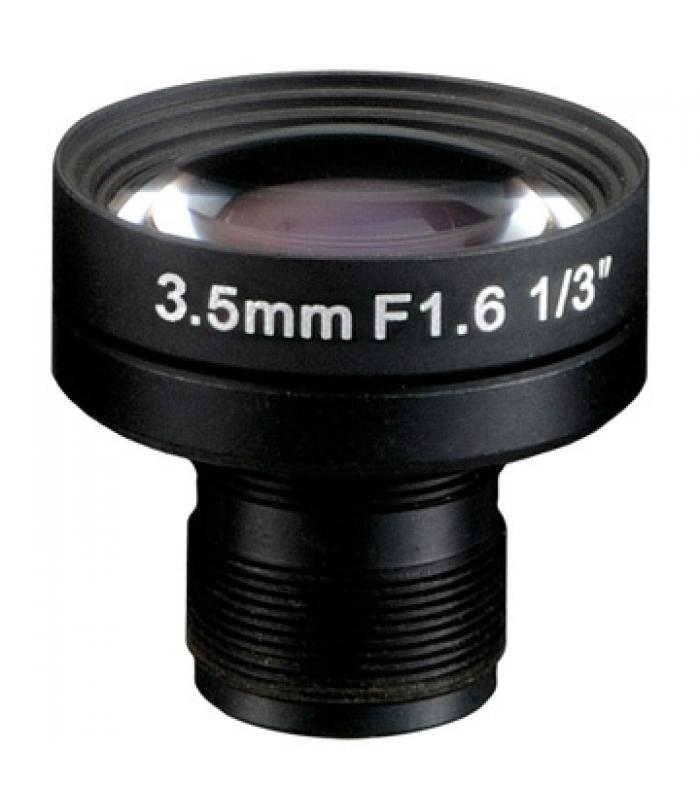 "1/3"" Mono-focal Lēca 3,5mm. IR M12IR35D"