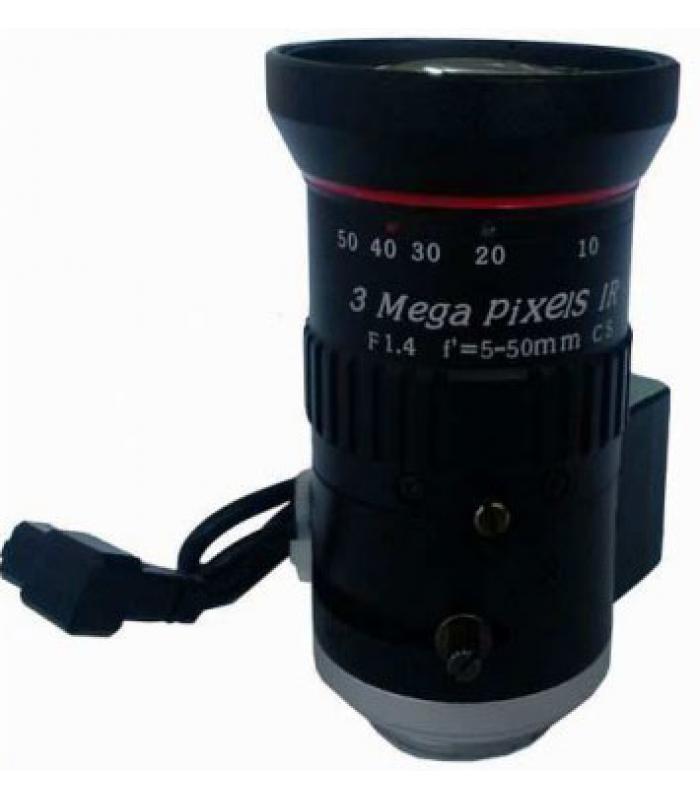 """CCTV Lēca HD 1/3"""" 5-50mm XD550GMP"""