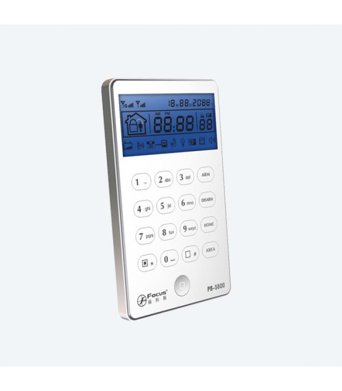 2 -way bezvadu LCD tastatūra