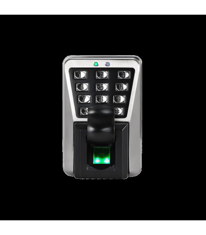 Biometriskais Pieejas un darba laika uzskaites kontrolieris pēc pirkstu nospiedumiem